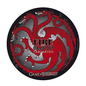 Tapis de souris Dragon tricéphale Maison Targaryen - Game of Thrones