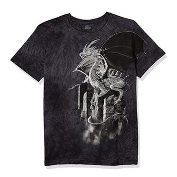 "T-Shirt ""Silver Dragon"" - The Mountain"