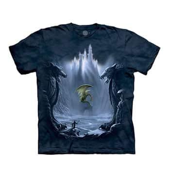 """T-Shirt """"La Vallée Perdue des Dragons"""" - The Mountain"""