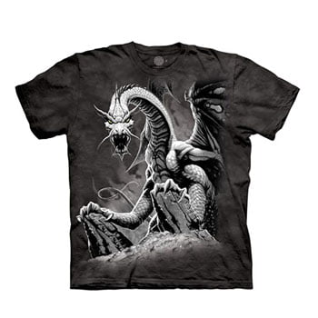 "T-Shirt ""Black Dragon"" Romas Kukalis - The Mountain"
