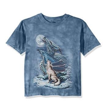 "T-Shirt ""Dragon Wolf Moon"" Ed Beard - The Mountain"