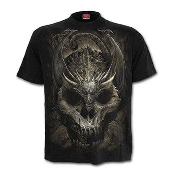 "T-Shirt ""Draco Skull"" - Spiral"