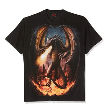 "T-Shirt  ""Draco Unleashed"" – Spiral"