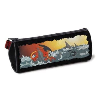 Trousse Dragon Rouge combattant un Monstre des Mers (Nici)