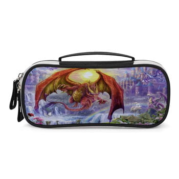 Trousse Dragon Rouge Fantasy