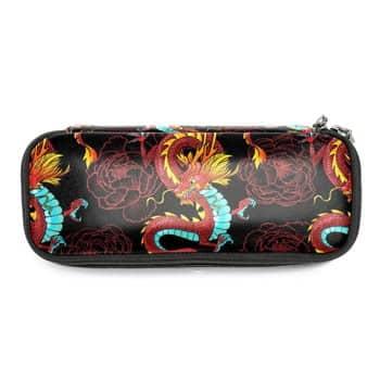 Trousse Dragon chinois et Fleurs de Lotus