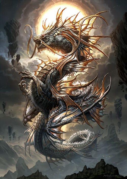 En Asie, on considère les dragons sous un jour positif et on les utilise comme symboles de bonne fortune.