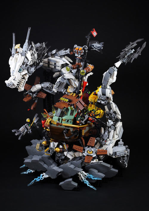 Lego et Playmobil Dragons